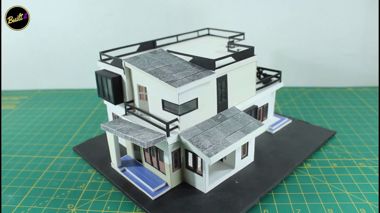 House🏡 Model with Removable Floors 😃 easy and simple way | Built IT