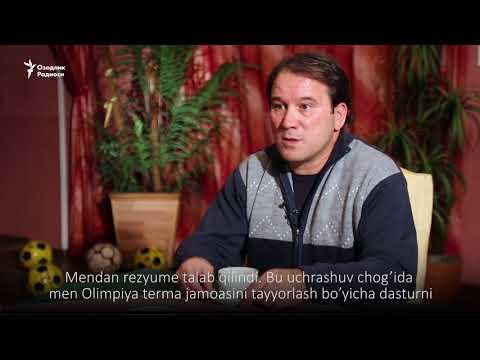 Азамат Абдураимов: Футбол фахрийлари президентдан жавоб кутаяпти