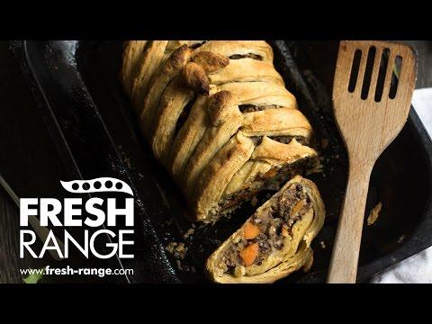 Vegeterian Christmas Wellington Recipe