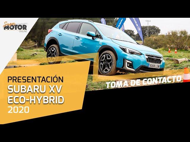 Conocemos el nuevo Subaru XV eco-Hybrid 2020 / Toma de contacto / SuperMotor.Online / T5 - E07