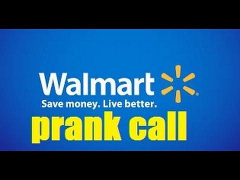 Walmart Customer Service Prank Call - YouTube
