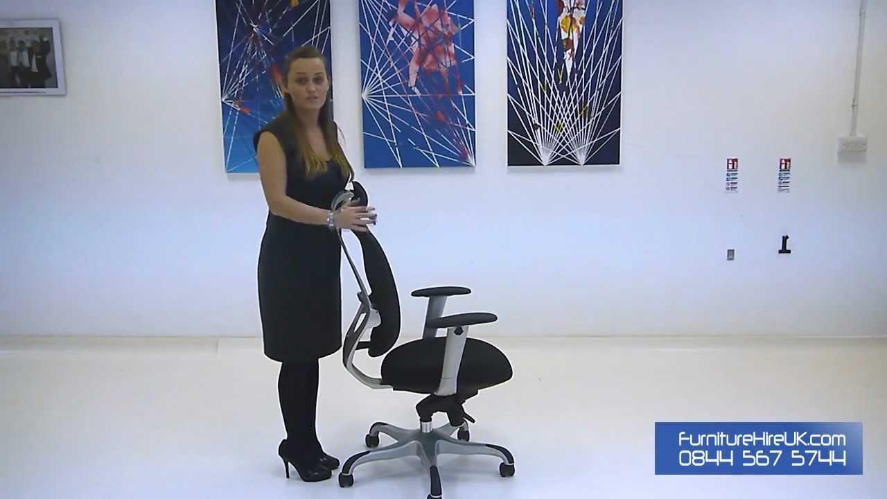 Ergonomic High Back Boffa Chair Demo - Furniture Hire UK