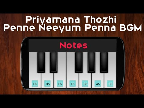 Penne Neeyum Penna BGM | Priyamani Thozhi | Perfect Piano Cover