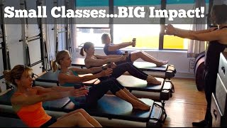 Pilates Class Demo - Mind Your Body, Upper East Side NYC