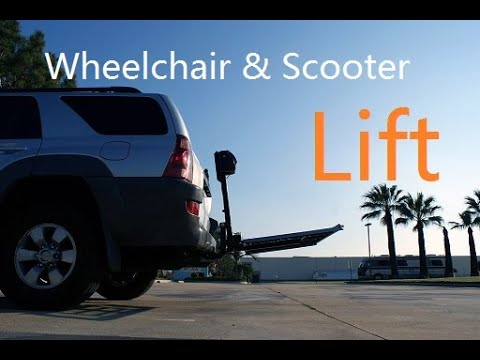POWER WHEELCHAIR-SCOOTER MOBILITY ELECTRIC LIFT RAMP CARRIER T40