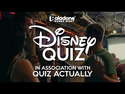 Disney Quiz Night | Paladone Games Night Highlights
