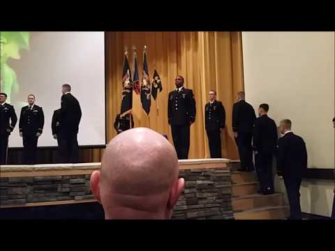 Graduation Ceremonies Of The 84th Chemical Battalion At Fort Leonardwood,Mo
