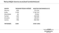 Infotilaisuus yksinyrittäjän korona-avustuksen hakemisesta 17.04.2020