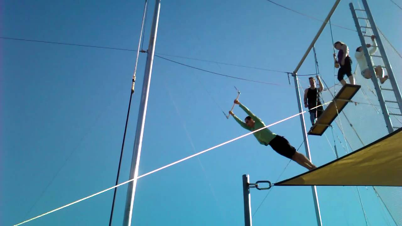 Sky High Trapeze - my current flying trap swing