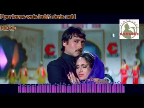 PYAR KARNE WAALE  hindi karaoke for Male singers with lyrics