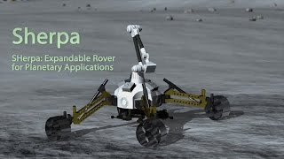 Sherpa: Expandable rover for planetary applications