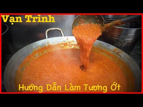 Hướng dẫn làm Tương Ớt Cay theo cách Nhà Hàng ( Spicy chili sauce )