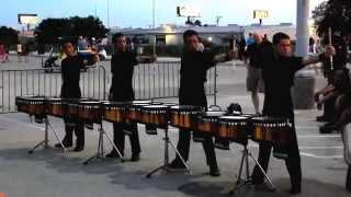 Blue Devils 2014 Drumline (Show music)
