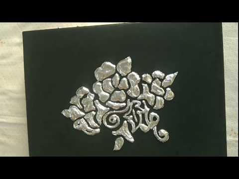 Aluminium foil art 🇵🇰/ Jewellery box or storage box/ food wrapping paper/ DIY 🇵🇰 crafting