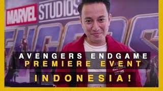 1 TAHUN NUNGGU FILM INI! PREMIERE AVENGERS ENDGAME INDONESIA
