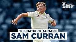 The Match That Made Sam Curran Incredible All-Round Performance England v India 1st Test 2018