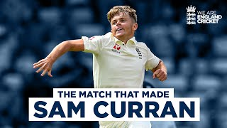 The Match That Made Sam Curran | Incredible All-Round Performance! | England v India, 1st Test 2018