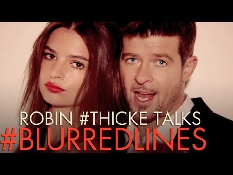 Robin Thicke talks about the Blurred Lines Uncensored video!! | ANDPOP.com