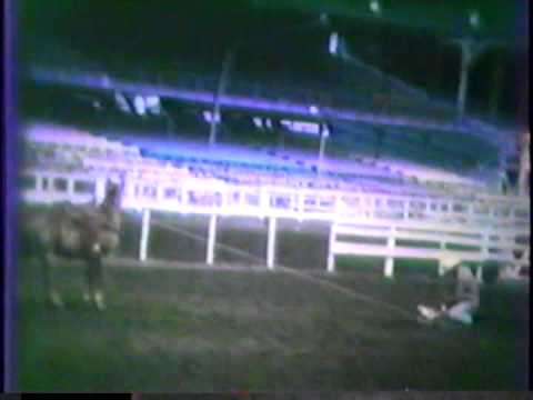 1968 CHEYENNE FRONTIER DAYS CALF ROPING