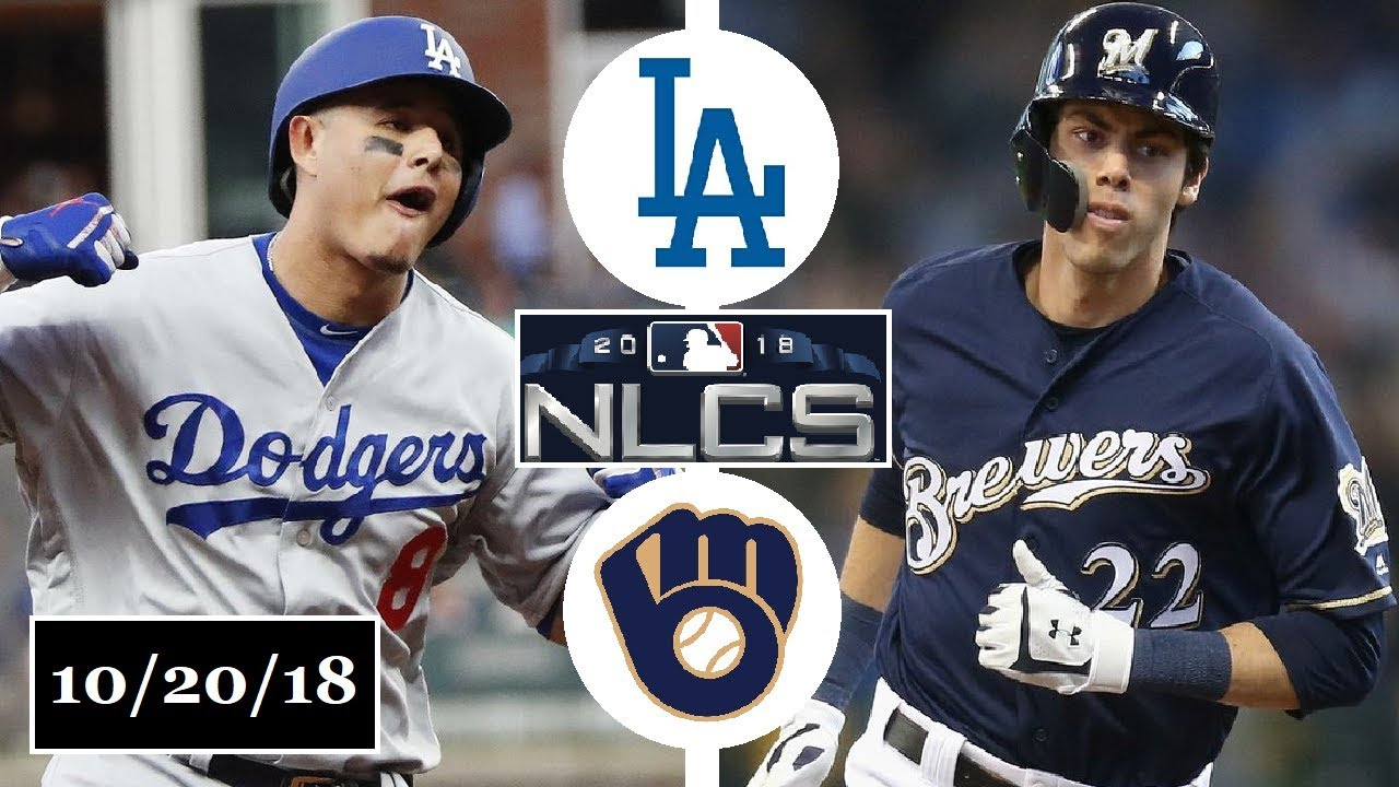 the latest 7a86e ca691 Los Angeles Dodgers vs Milwaukee Brewers Highlights || NLCS Game 7 ||  October 20, 2018