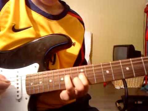 solo de farewell ballad de ricky thomas (12 ans)