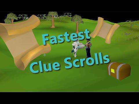 FASTEST/EFFICIENT ways to get CLUE SCROLLS OSRS
