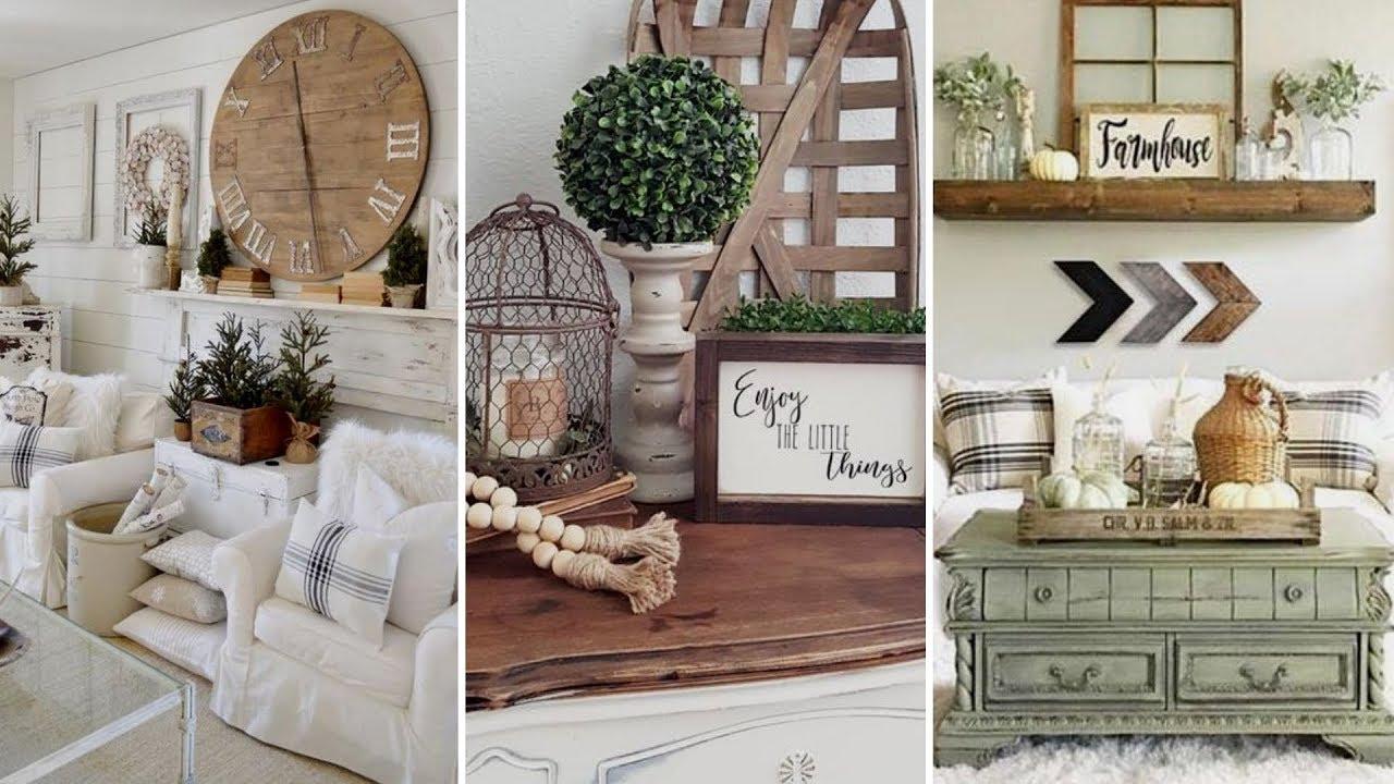 Diy Farmhouse Style Summer Living Room Decor Ideas Home