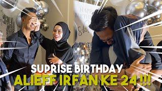 BELLA SUPRISE HADIAH PALING BESAR UNTUK ALIEFF !!! SUPRISE BIRTHDAY ALIEFF IRFAN KE-24