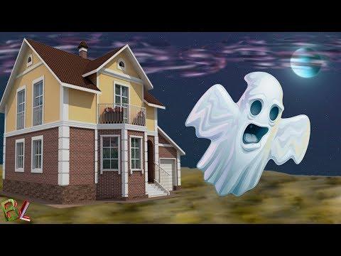 ДОМ С ПРИВЕДЕНИЯМИ Спасаем Город От Злых Духов Развлекательное Видео для Детей