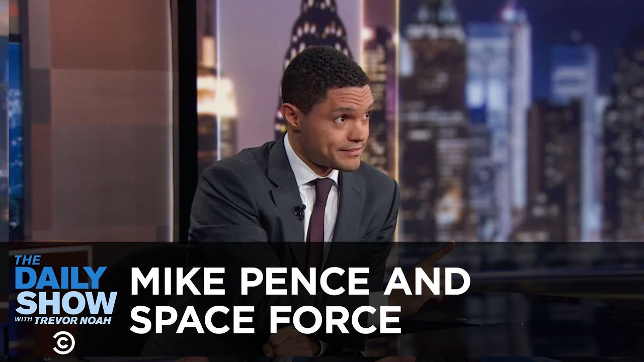 Mike Pence and Space Force - Between the Scenes | The Daily Show