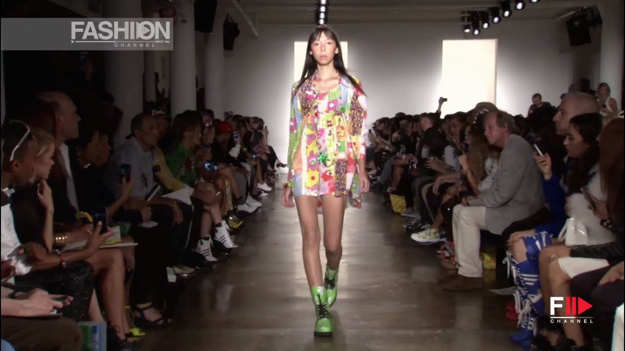 """JEREMY SCOTT"" Full Show Spring Summer 2015 New York by Fashion Channel"