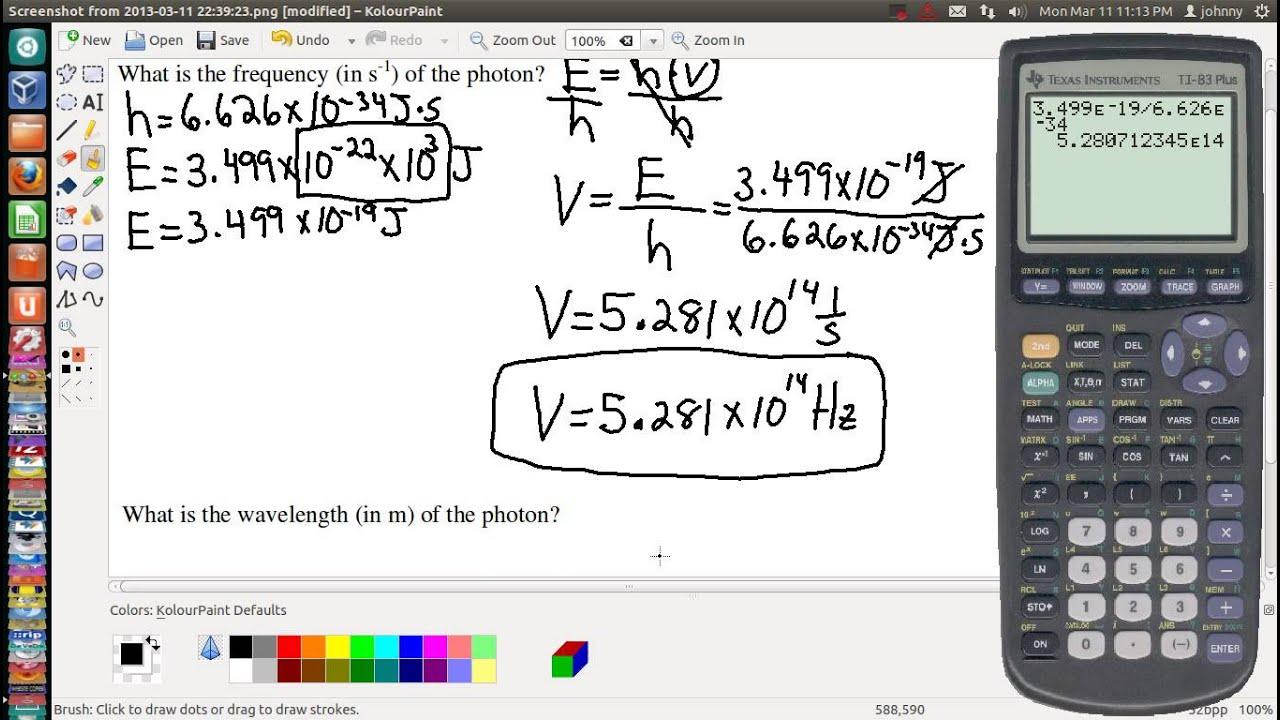 Photon Energy Calculator - Omni
