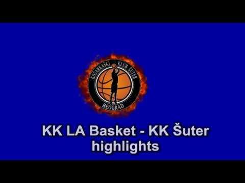 KK LA Basket   KK Šuter Beograd Game highlights