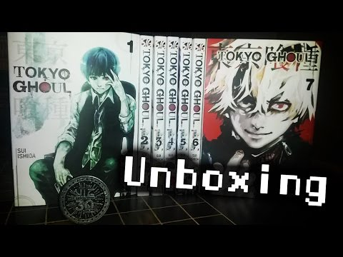 Unboxing ~ Tokyo Ghoul manga and more!