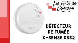 Test d'un détecteur de fumée X-Sense DS32