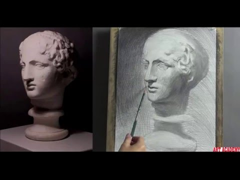 Plaster cast Drawing Tutorial