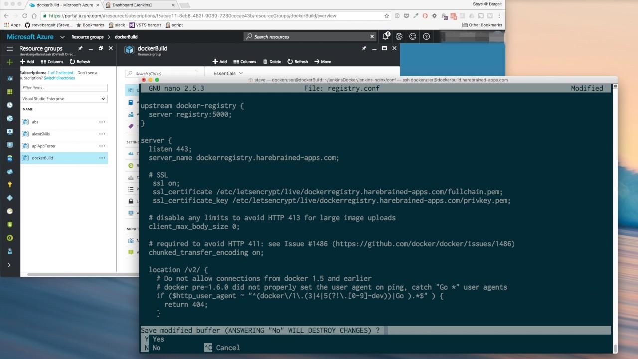 Steve Bargelt   Automated Build System 03: Secure Docker Registry in