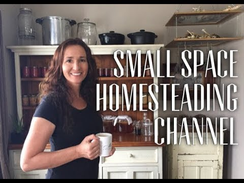 Welcome To Moat Cottage - The small space homesteading channel
