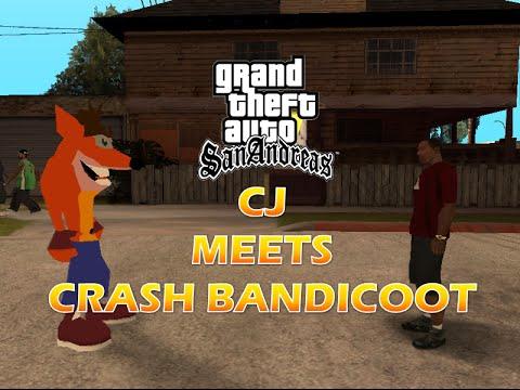 Crash Bandicoot - GTA San Andreas