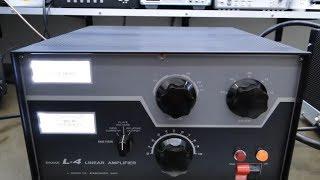 ALPHA TELECOM: SUPER RESTAURAÇÃO AMPLIFICADOR LINEAR DRAKE L4