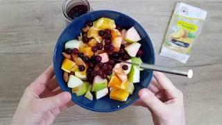 Vitalia healthy food - Богата овошна салата со аронија (Посно, vege. diet)
