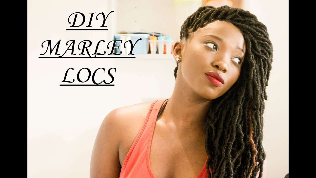 Quickereasier way to do faux locs un marleylocs youtube solutioingenieria Choice Image
