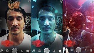 Netflix: Stranger Things 2 Facebook AR Filters