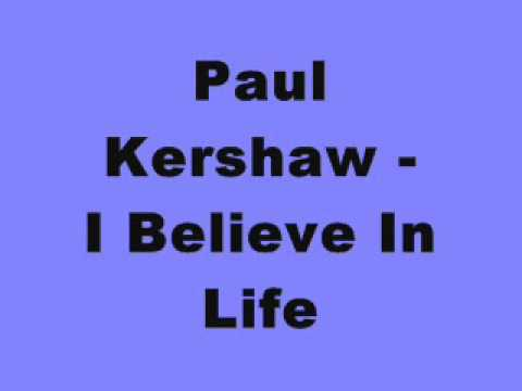 Paul Kershaw - I Believe In Life (Sundissential EP)