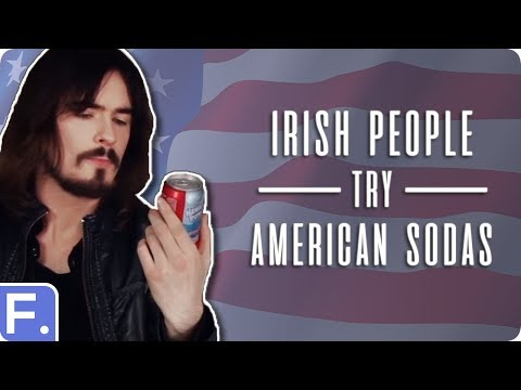 Irish People Try American Sodas