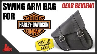 Swing Arm Bag Review for Harley-Davidson Sportster