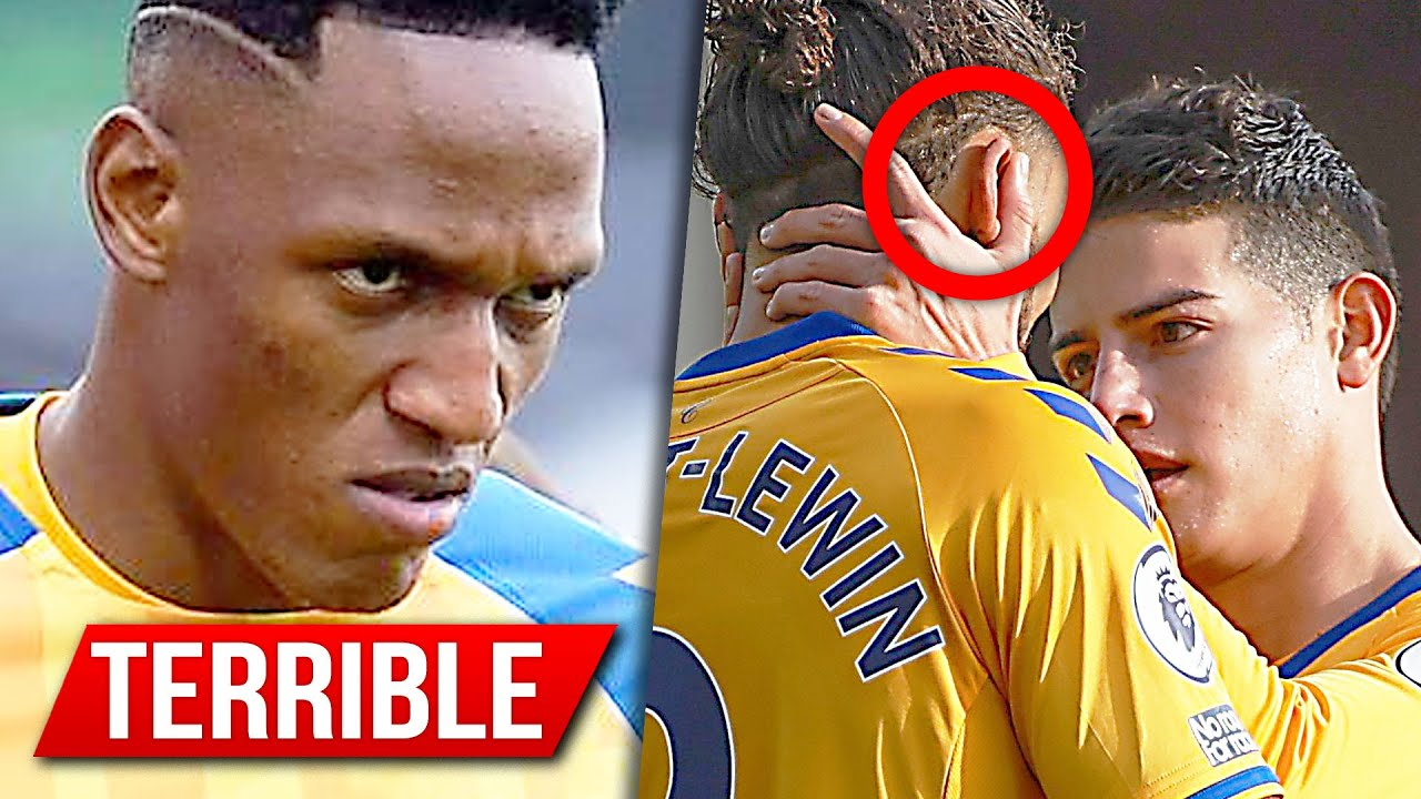 TERRIBLES INSULTOS A JAMES POR ESTO | YERRY MINA AUTOGOL | EVERTON PREMIER LEAGUE HOY PARTIDO