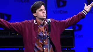George Watsky Spoken Word (VidCon 2014)