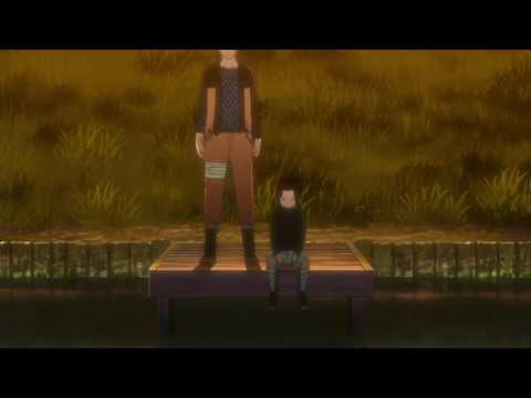 SADNESS AND SORROW SASUKE VS NARUTO SCENE