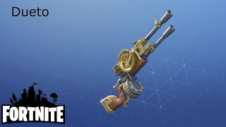 The New Drum Weapon / Duet Fortnite: Saving the #398 World